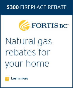 Fortis Natural gas fireplace rebate